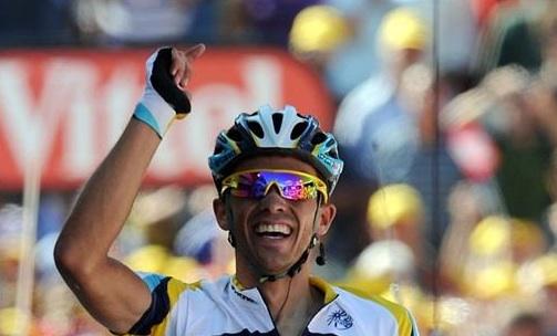 Alberto Contador: The Yellow Man.