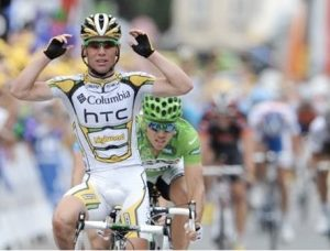 Another flat stage, another win for Cavendish.