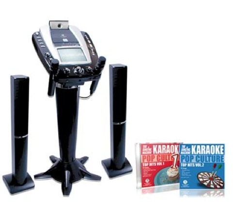 First Peek: Armstrong's Radio Shack team-issue karaoke machine