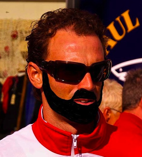 No, I'm not Valverde. He doesn't have a beard.