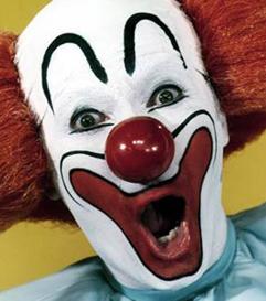 Astana the clown.