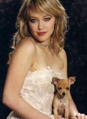 Hilary Duff and pal.