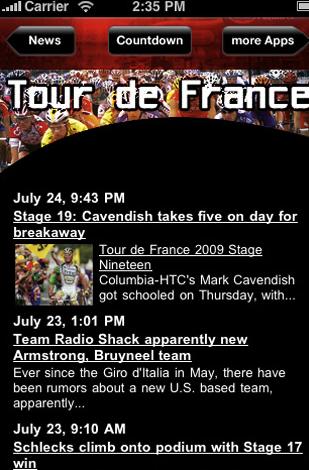 Tick tock to the Tour.