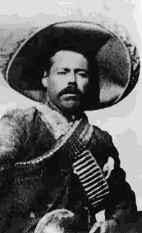Pancho Villa, in his team Revolution jersey.