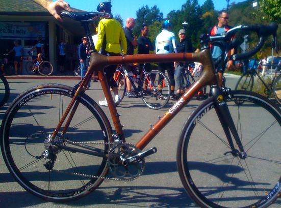 The bamboo dream bike.