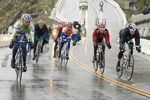 Tour of California 2009. Just add sunshine & Radio Shack.